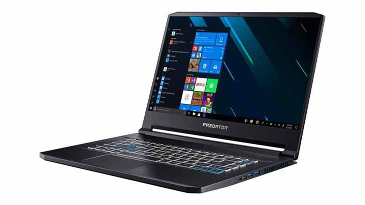 Ноутбук Acer Predator Triton 500 с GeForce RTX 2080 вышел в России