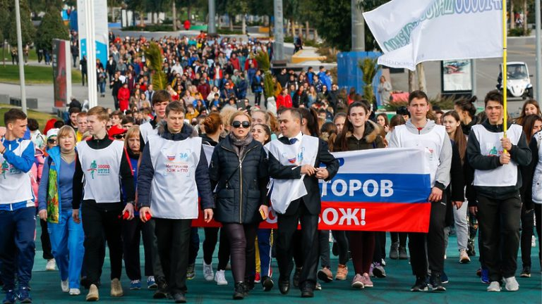 Всероссийская акция «10 тысяч шагов к жизни» состоится на ВДНХ 7 апреля 2019 года