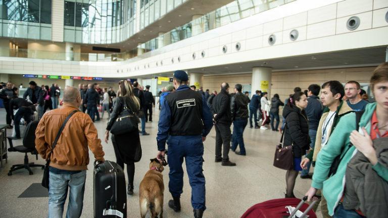 Саперы не нашли взрывного устройства на борту самолета в «Домодедове»