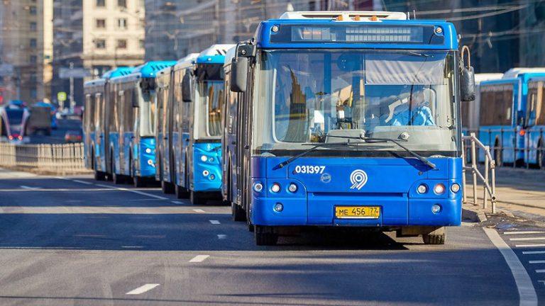 Число бесплатных маршрутов в районе закрытых станций метро увеличилось до 24