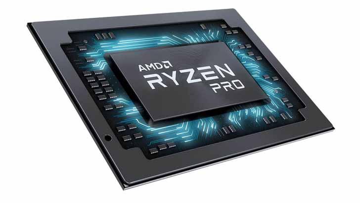 AMD представила APU Ryzen Pro 3000 и Athlon Pro для ноутбуков