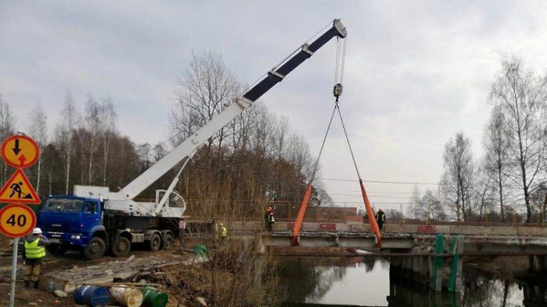 Ремонт 15 мостов начался в Подмосковье