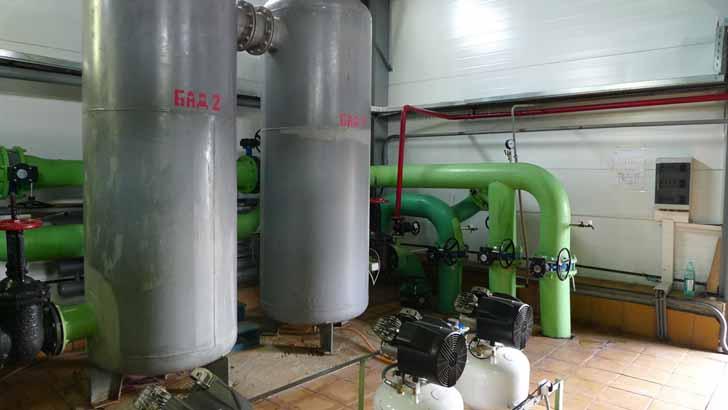 В Клин-9 построят станцию обезжелезивания воды