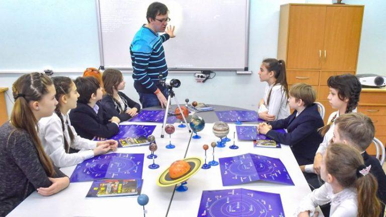Космические уроки пройдут в школах Москвы