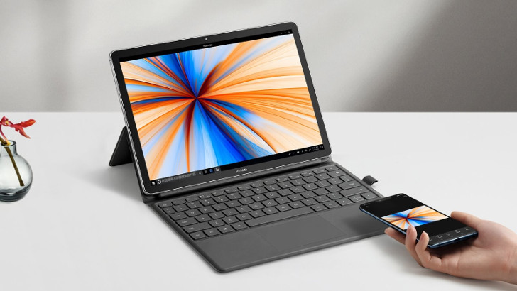 Huawei MateBook E (2019): планшет-трансформер на базе Snapdragon 850 и Windows 10