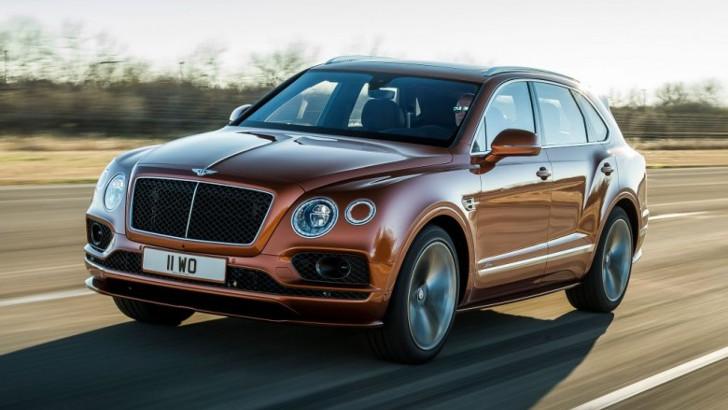 Bentley представляет внедорожник Bentayga Speed