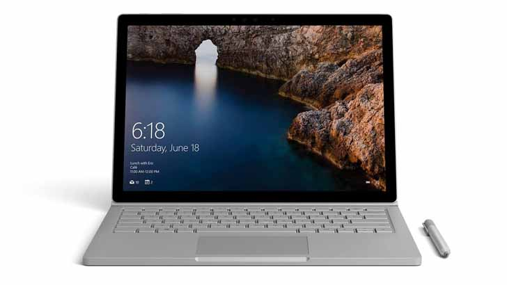 Microsoft выпустила версию Surface Book 2 на базе Intel Core i5-8350U