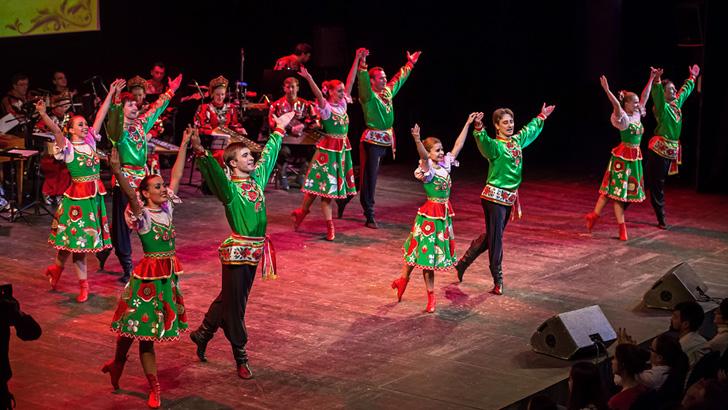 18 апреля 2019 года в Молодежном центре «Стекольный» (г. Клин) выступит Государственный ансамбль русской музыки и танца «Садко»