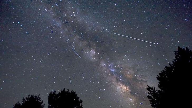 Начинается метеорный поток Лириды, пик которого ожидается 22-23 апреля 2019 года