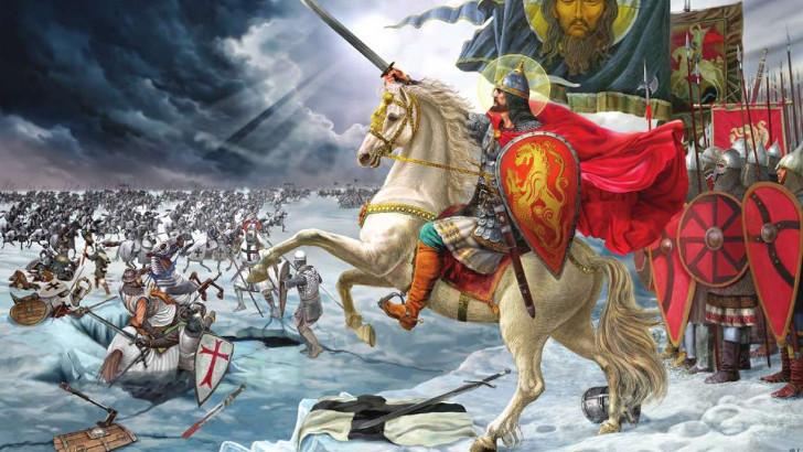 День победы русских воинов князя Александра Невского над немецкими рыцарями на Чудском озере (Ледовое побоище, 1242 год)