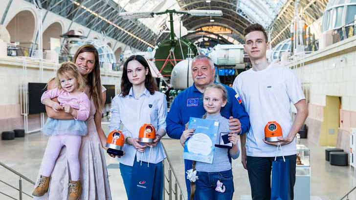 На ВДНХ наградили победителей первого Космического диктанта