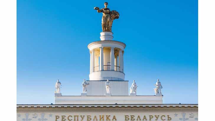 Пасхальная ярмарка в павильоне №18 «Республика Беларусь»