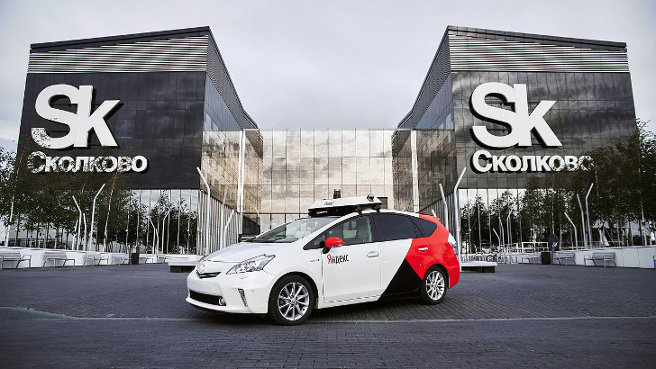 Первое беспилотное авто Яндекса выходит на дороги Москвы