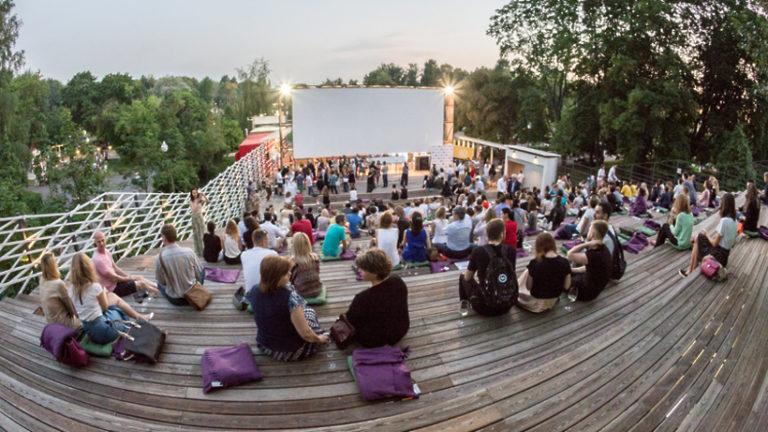 Летний кинотеатр «Пионер» в парке «Музеон» откроется 1 мая 2019 года