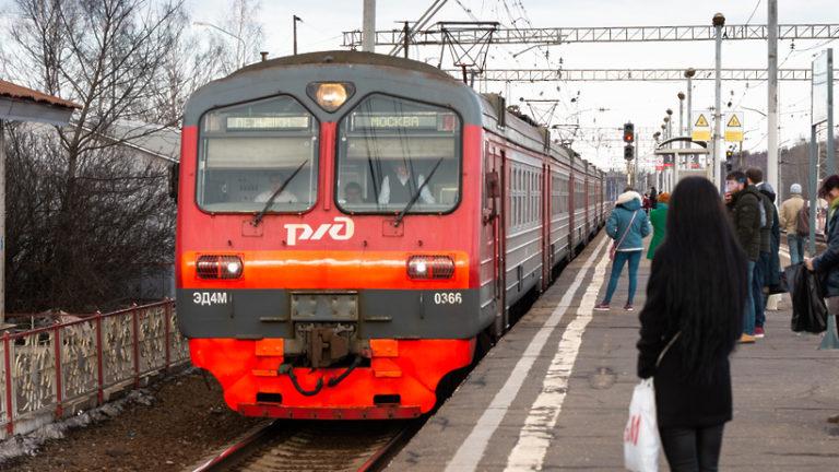 График движения поездов стабилизировали на Белорусском направлении МЖД в сторону области