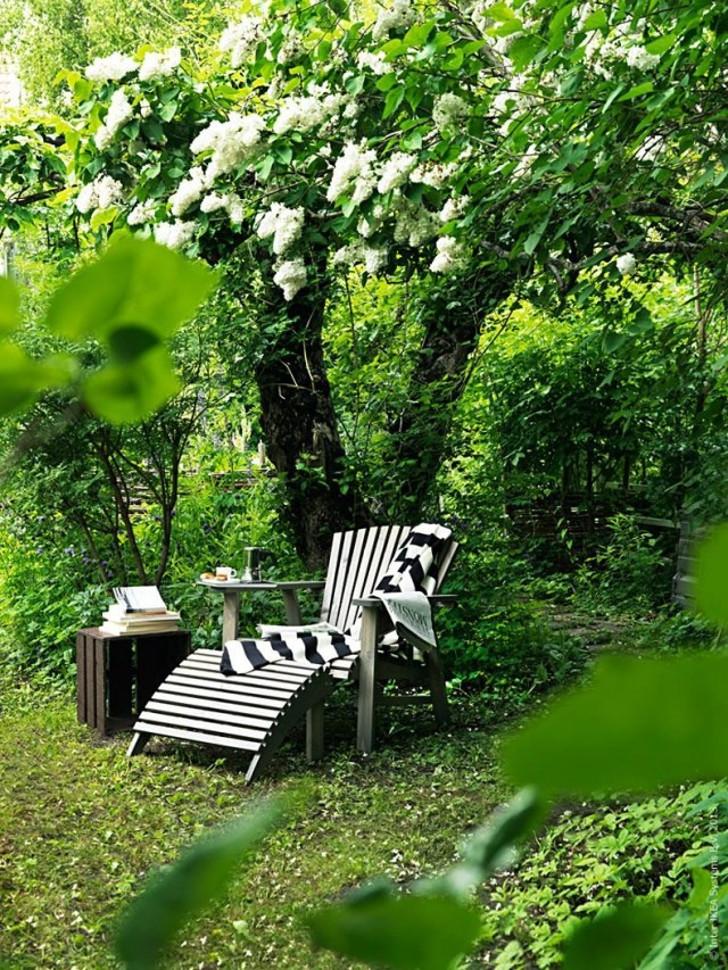 Кресло в саду. © IKEA Livet Hemma