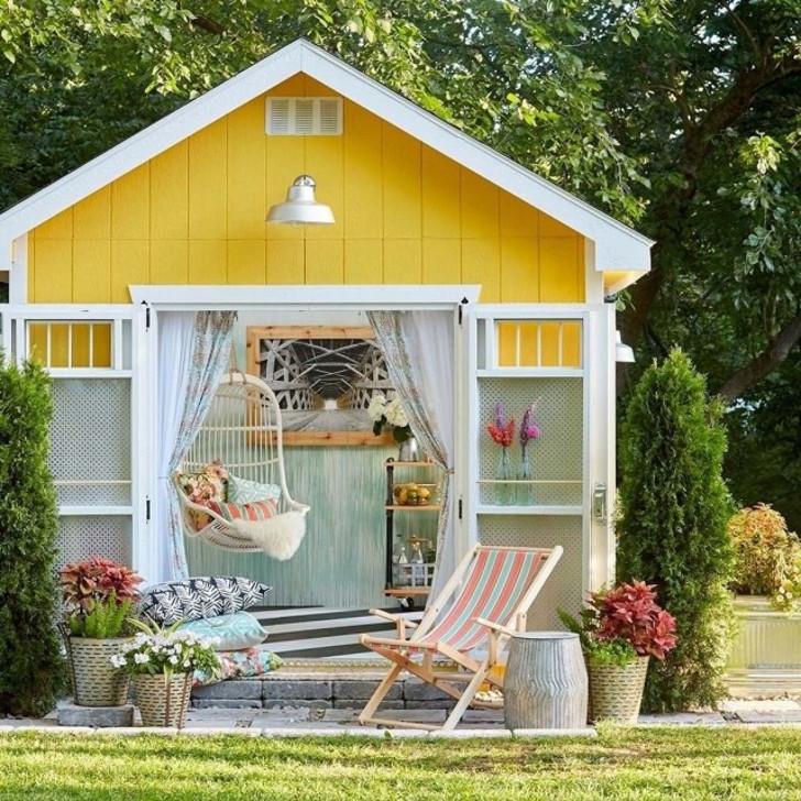 Уютный домик для отдыха. © bhg