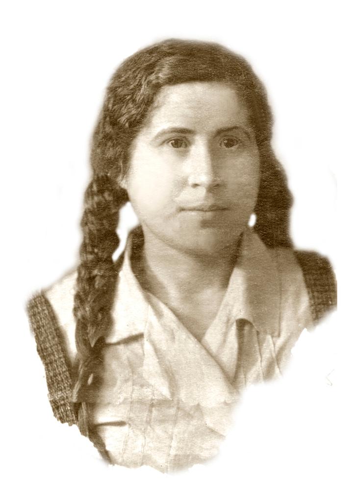 Моя мама Мария Васильевна Кузьмина
