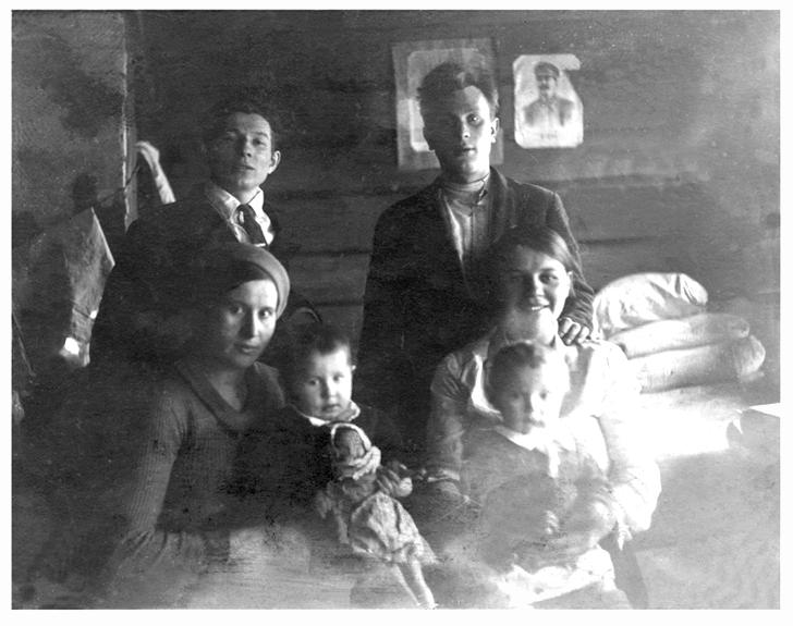 Родители после войны 1948 год