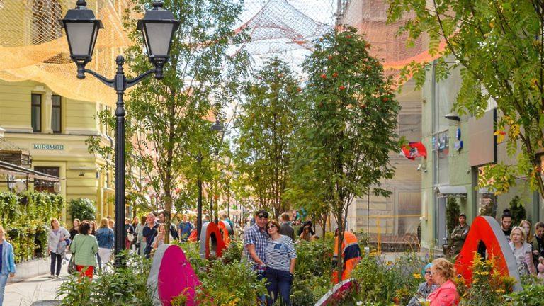 Свыше 40 садов‑финалистов «Цветочного джема» украсят Москву в июне 2019 года