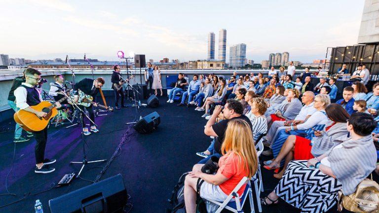 Новый сезон проекта «Музыка на крыше» начнется на ВДНХ 9 июня 2019 года