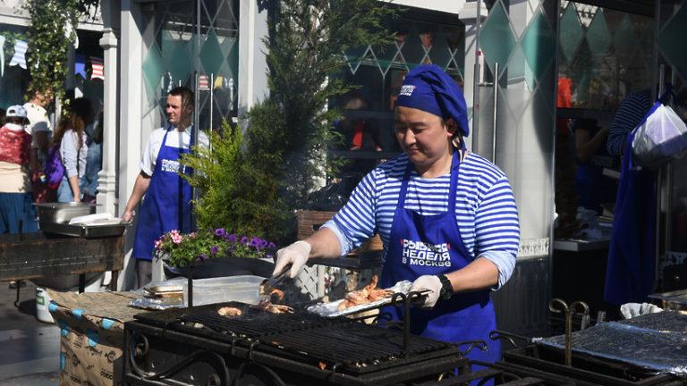 Фестиваль «Рыбная неделя» откроется в Москве