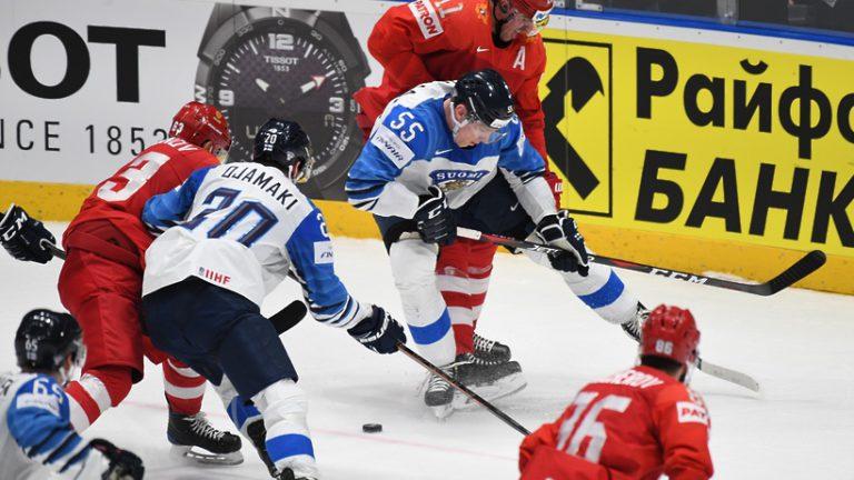 Российские хоккеисты уступили команде Финляндии в полуфинале чемпионата мира