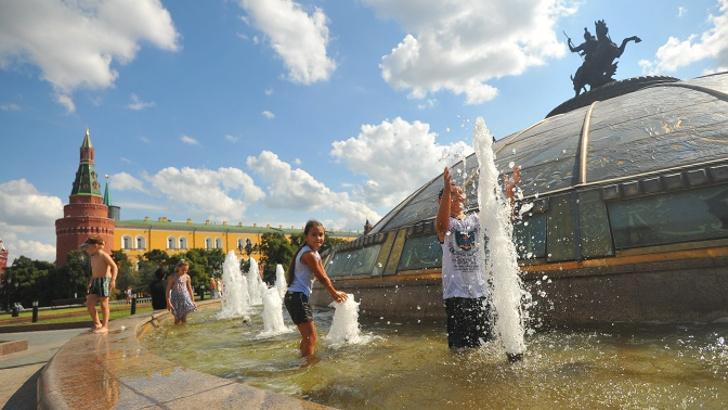 29 мая 2019 года в Москве ожидается жара до +31°С