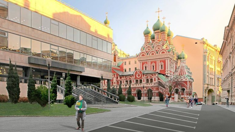 В столице в понедельник (13 мая 2019 года) начинают благоустройство Ильинки