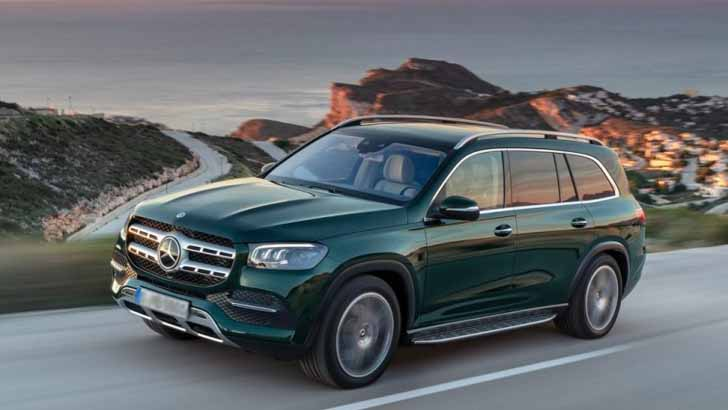 Новый Mercedes-Benz GLS. Версии для России