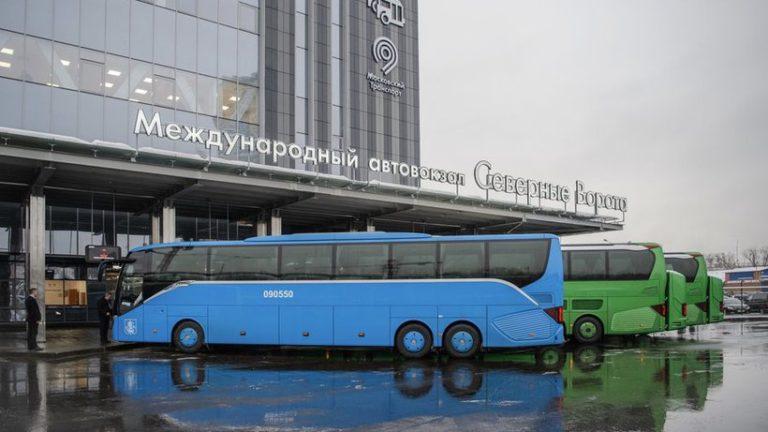Автовокзал «Северные ворота» начнет принимать международные рейсы с «Тушинской»