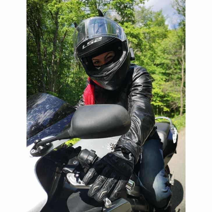 Мотоцикл – это твоя душа, твое все… (фото из личного архива Ольги)