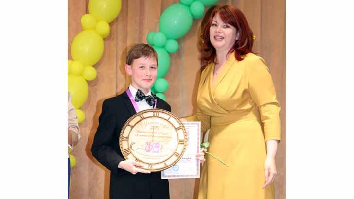 Андрей Матвеев из школы искусств поедет на конкурс в Испанию