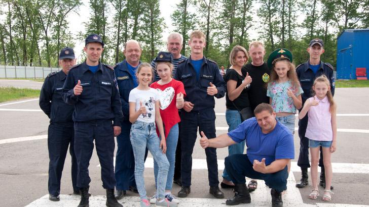28 мая 2019 года работники Клинского территориального управления «Мособлпожспас» провели спортивное мероприятие «На старт всей семьей».
