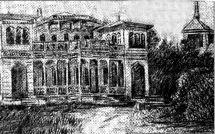 Дом в Майданово в котором жил Чайковский с февраля 1885 г