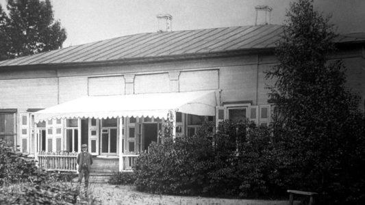 Дом во Фроловском, где П.И. Чайковский прожил три года.