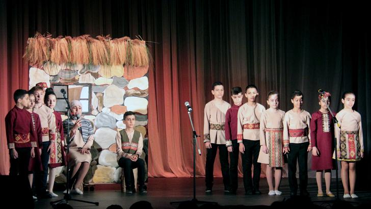 Уникальный концерт на армянском языке