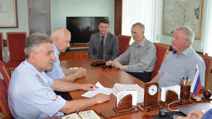 В Клину состоялась рабочая встреча с представителями Общественного Совета и Совета Ветеранов ОМВД