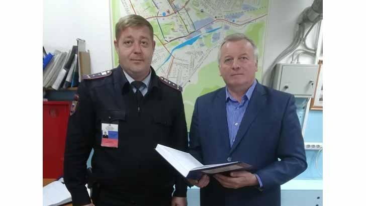 В Клину заместитель председателя Общественного совета при ОМВД проверил работу Дежурной части Высоковского отделения полиции
