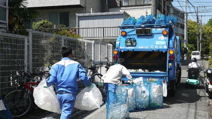 Как за границей собирают мусор