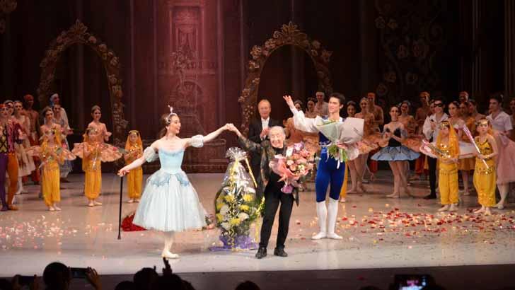 В этом японском сердце русский не только балет!