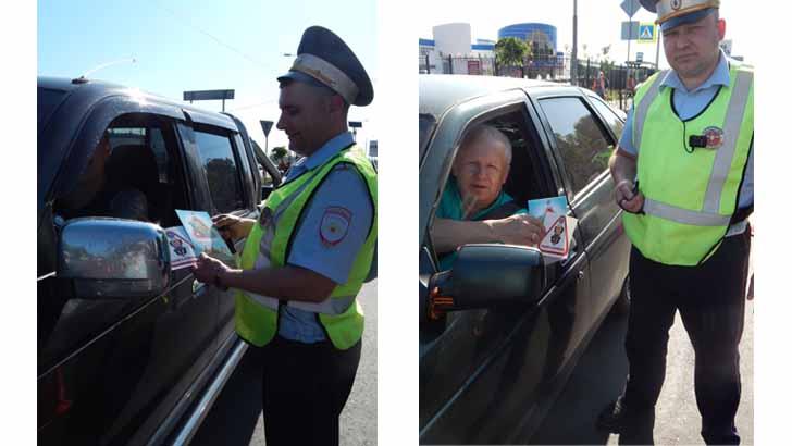 Сотрудники Госавтоинспекции провели очередной рейд по детским автокреслам