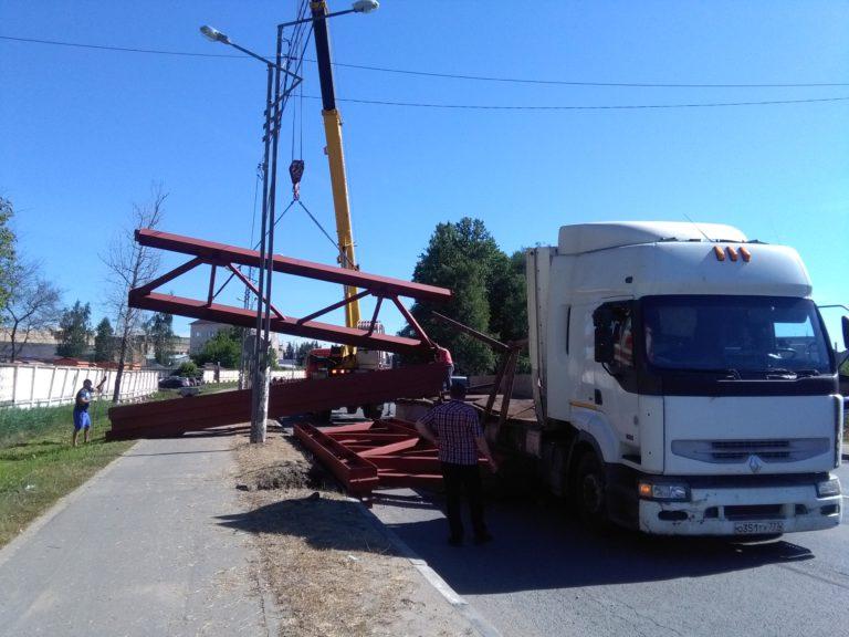 На Лавровской дороге пробка, которая затрудняет движение в городе
