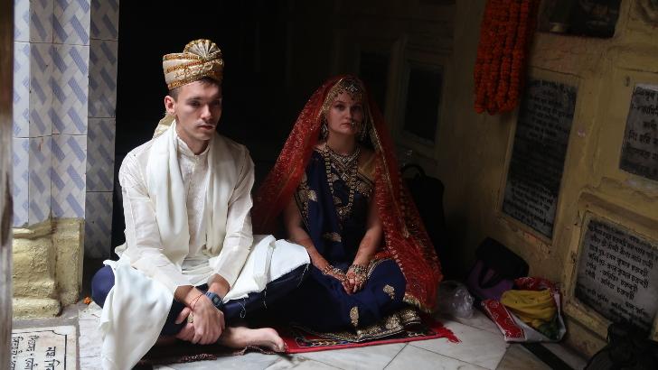 Наша индийская свадьба