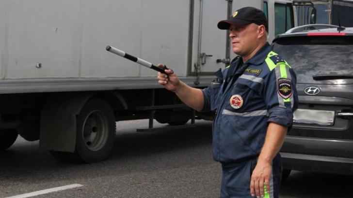 В Московской области идёт «Грузовик»