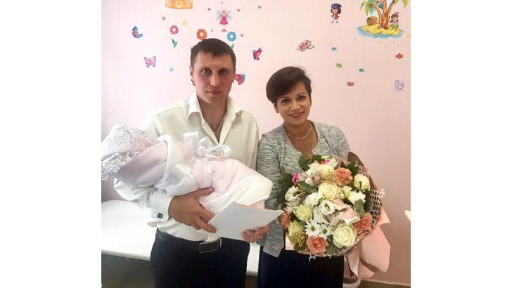 700-й новорожденный зарегистрирован в Клину