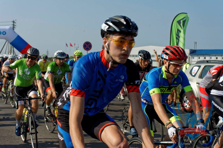 Велогонка Gran Fondo в Клину
