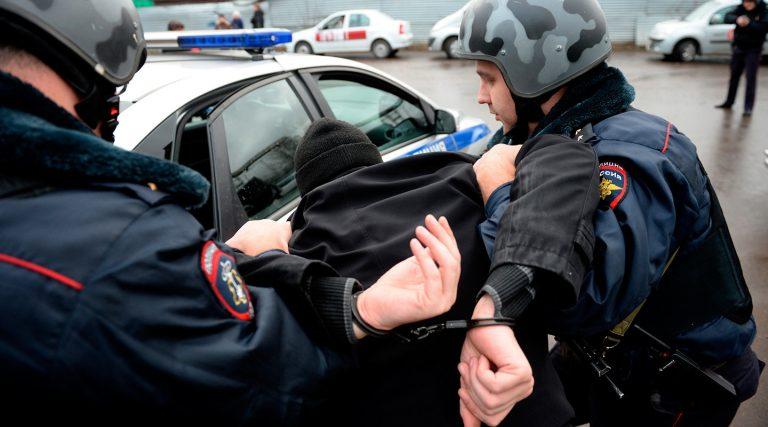 полиция задержание