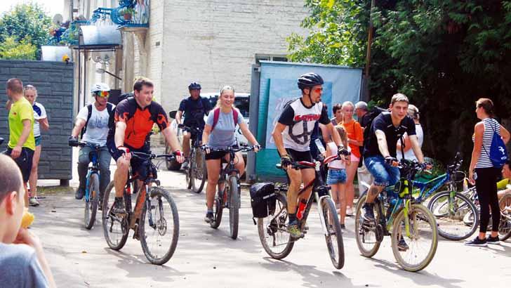 Приглашаем всех на велопрогулку «Крутящий момент»!