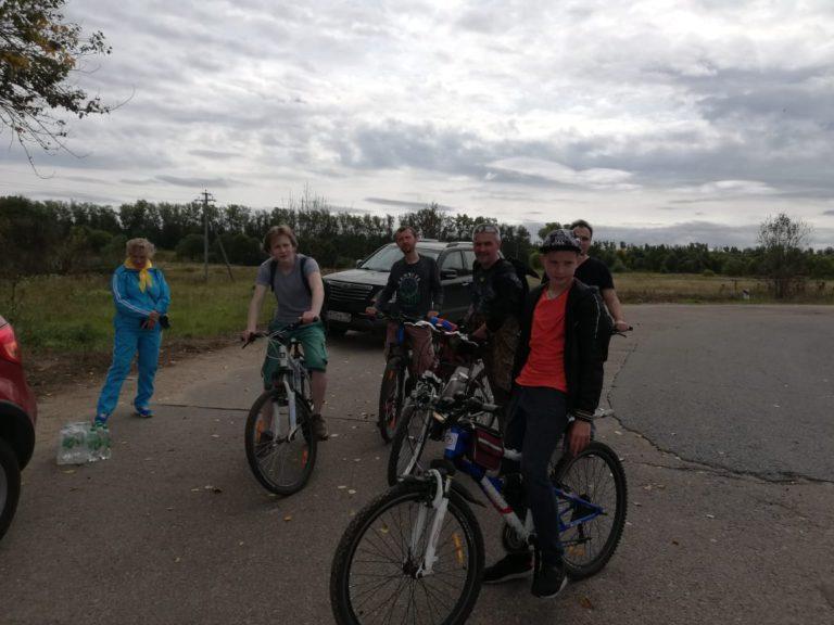 В Клину прошла велопрогулка «Крутящий момент»